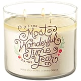 It's the Most Wonderful Time of the Year Candle