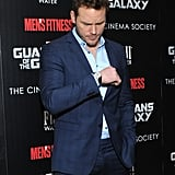 At a Guardians of the Galaxy Screening, July 2014 . . .
