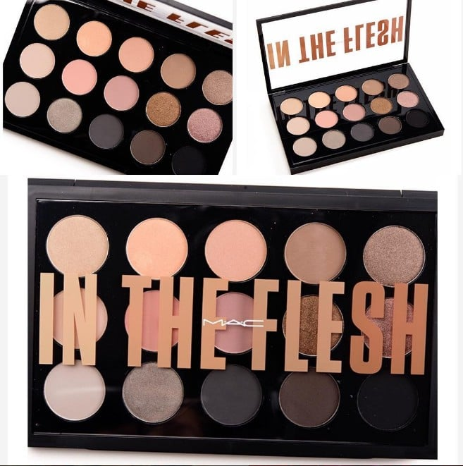 Mac cosmetics in the flesh eye shadow palette popsugar beauty altavistaventures