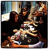 Uniqlo hooked its patrons up with free manicures!