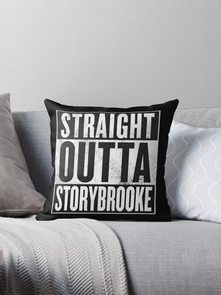 Straight Outta Storybrooke Pillow