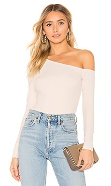 Privacy Please Charleston Top in Ivory