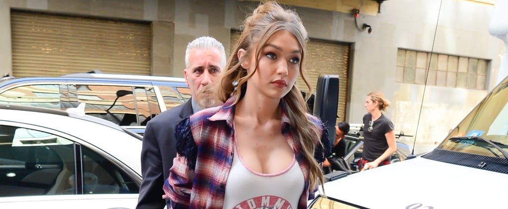 Gigi Just Tried Kim's Controversial Look, Now We're Almost Convinced to Try it Ourselves