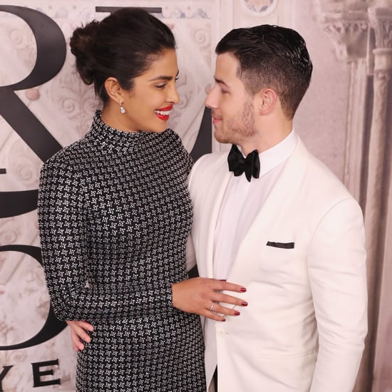 Priyanka Chopra and Nick Jonas at New York Fashion Week 2018