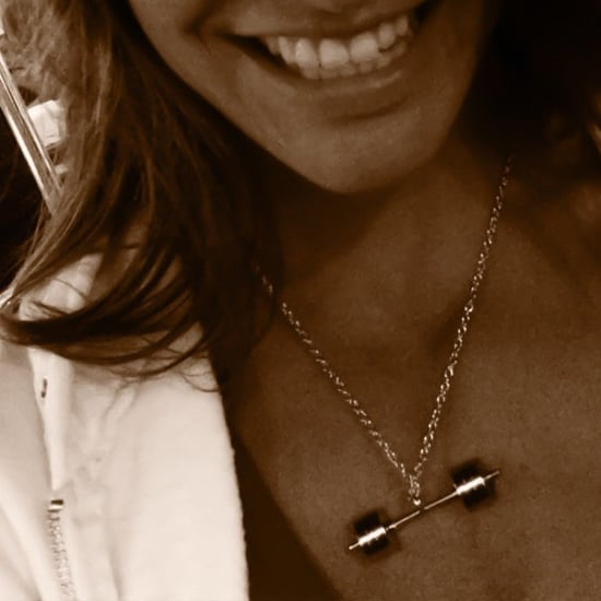 Olympic Barbell Necklace