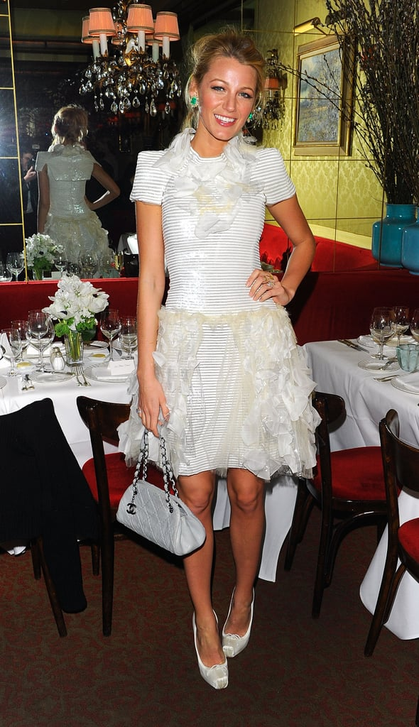When She Was the Guest of Honor at a Chanel Dinner