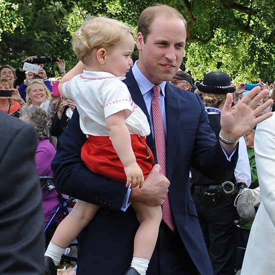 Prince William, Prince George and Princess Charlotte