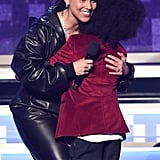Pictured: Alicia Keys and Raif-Henok Kendrick