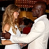 Delta Goodrem and Seal