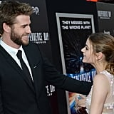 When We Were Dying to Know What She and Liam Hemsworth Were Talking About