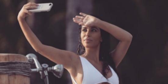 Kim Kardashian Took 6,000 Selfies During 4-Day Mexican Vacation