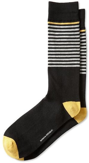 Placed Stripe Sock