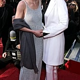 Ellen DeGeneres and Anne Heche