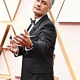 Taika Waititi at the 2020 Oscars