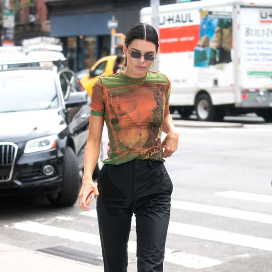 Kendall Jenner and Kourtney Kardashian in Same Shirt