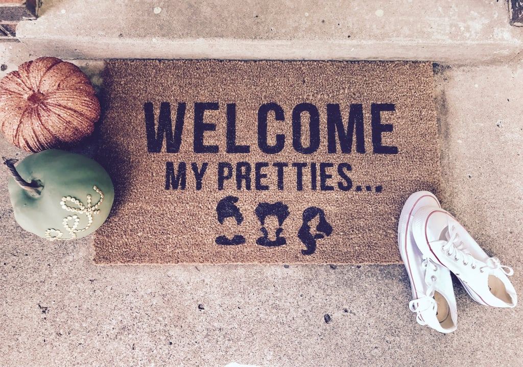 Welcome Witches Hocus Pocus Doormat