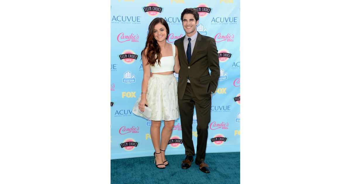 darren criss dating lucy hale Discover who lucy hale is frequently seen with, and browse pictures of them together.