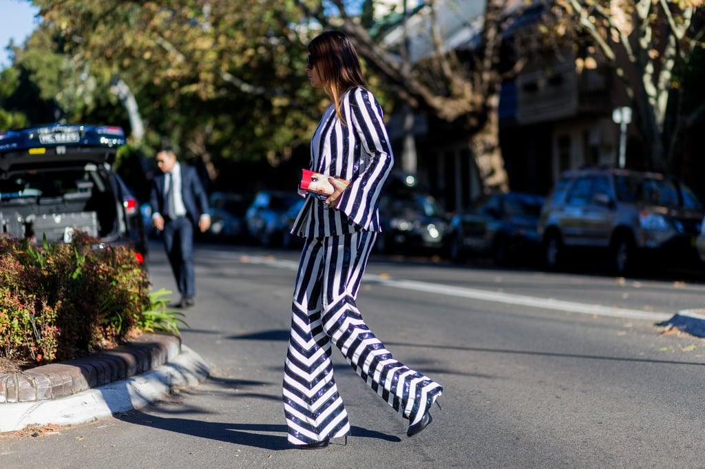 A True Power Suit Has Sequins or Bold Stripes