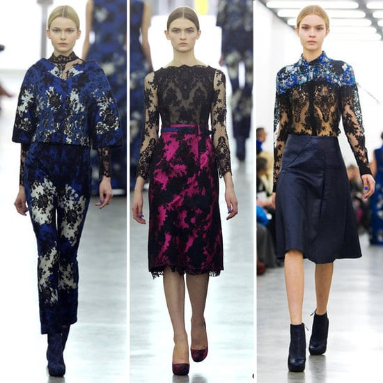 Review and Pictures of Erdem London Fashion Week Runway Show