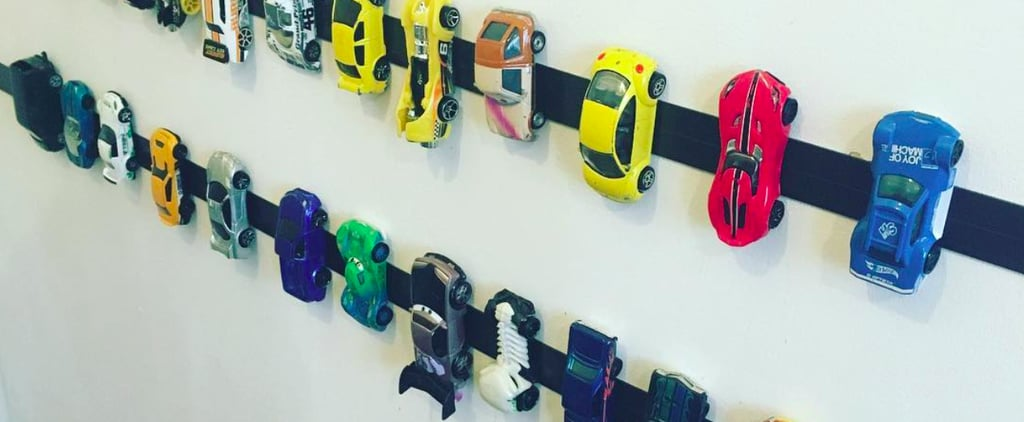 Hack For Toy Car Storage