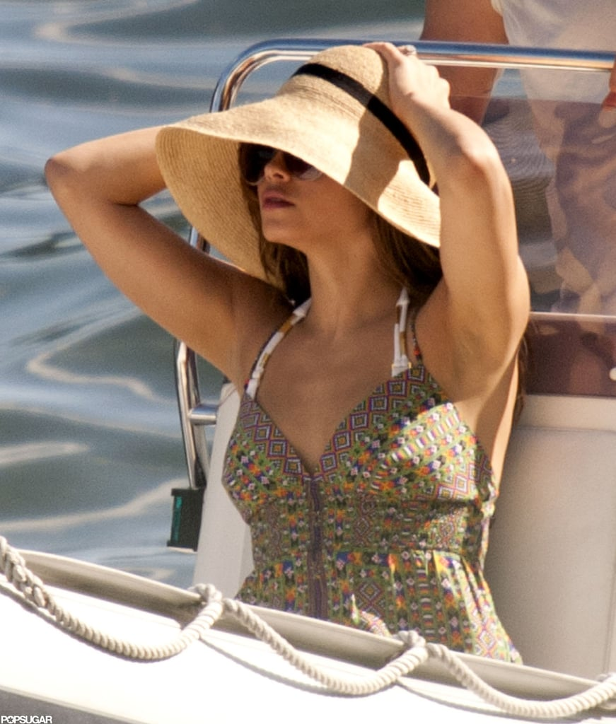 Channing Tatum and Jenna Dewan at Lake Como | Pictures