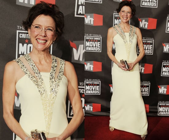 Annette Bening at 2011 Critics' Choice Awards