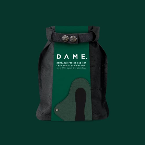 DAME Reusable Period Pad Set