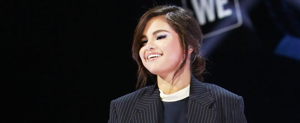 Selena Gomez Wearing a Suit April 2019