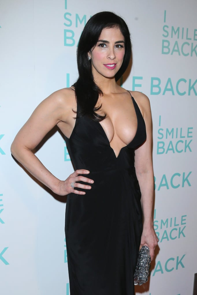 This Is No Joke: Sarah Silverman Hits the Red Carpet in an Insanely Sexy Dress