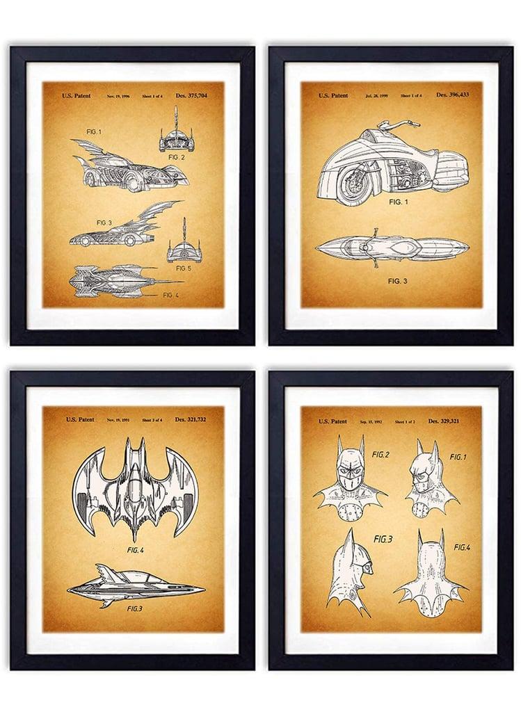 Batman Set of Four Prints