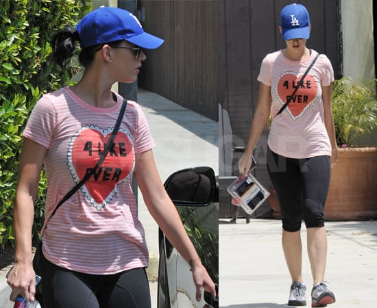 Pictures of Katy Perry Leaving a Hollywood Gym