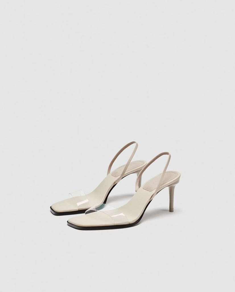 Alternative: Zara Vinyl Strap Sandals