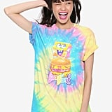 Lisa Frank x SpongeBob Girls Krabby Patty Tie-Dye Tee ($25)