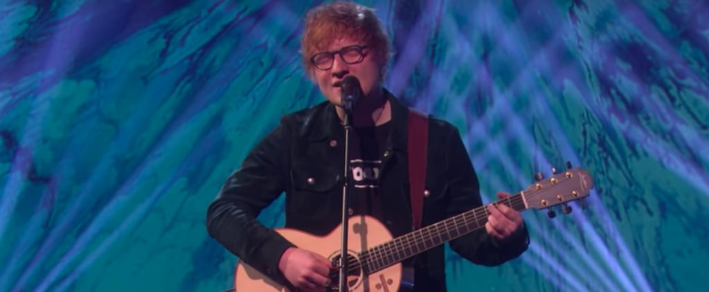 "Everything About Ed Sheeran's Performance on Ellen Is, Well, ""Perfect"""
