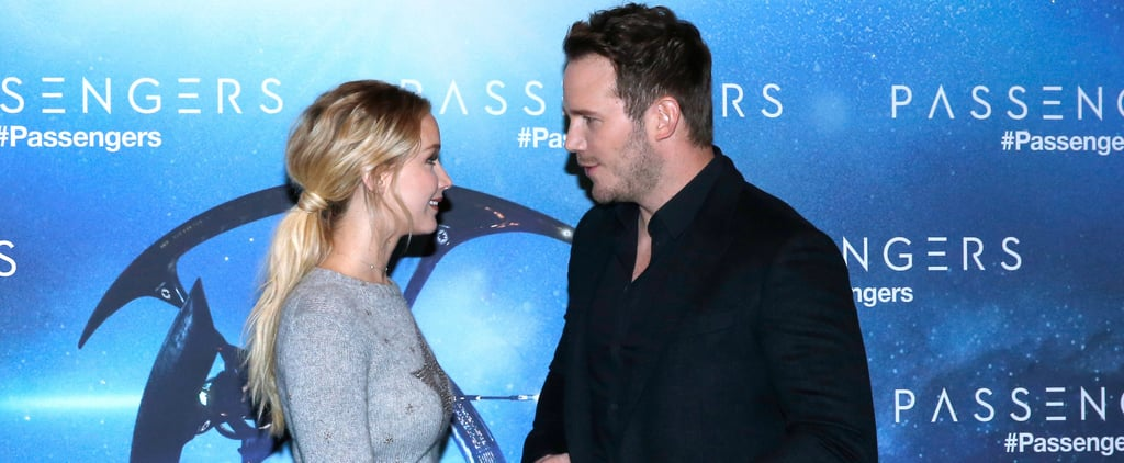 Chris Pratt and Jennifer Lawrence Make a Perfect, Goofy Pair at an Event in Paris