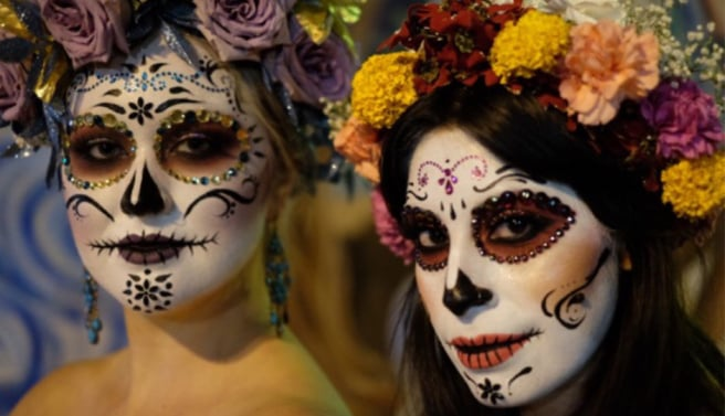 may the sugar skull art that you create in their honor aide them in their spiritual journey