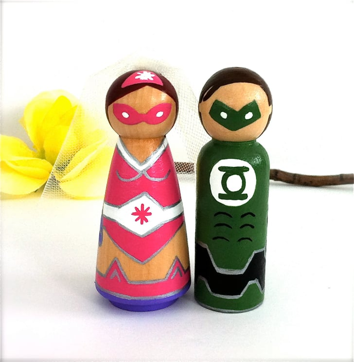 superhero wedding cake toppers australia green lantern and his cake toppers 65 20610