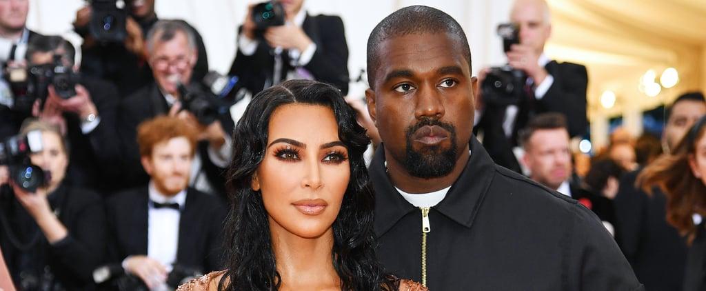 Kim Kardashian and Kanye West's Signature Red Carpet Pose