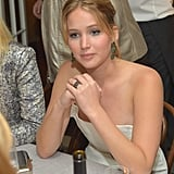 Jennifer Lawrence and Bradley Cooper at Vanity Fair Party