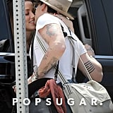 Amber Heard Slips Johnny Depp the Tongue