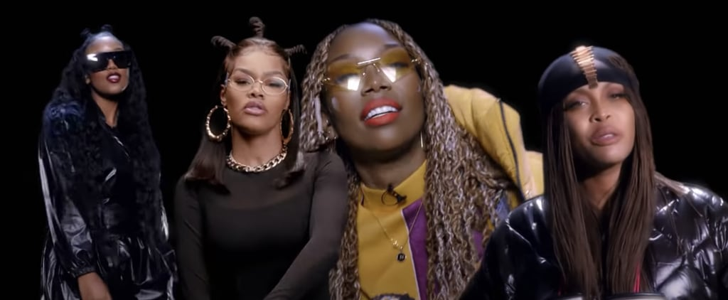 Brandy, Erykah Badu, Teyana Taylor, and H.E.R.'s BET Cypher