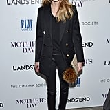 Olivia Palermo Wearing Creeper Shoes