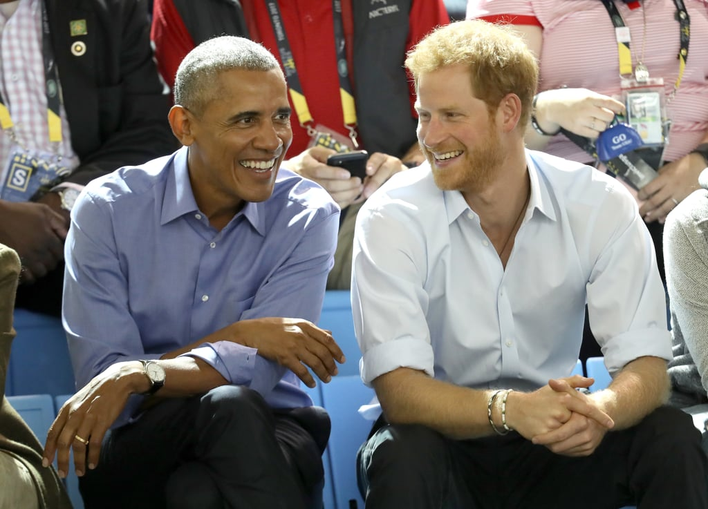 When Barack Obama and Prince Harry Were Just 2 Dudes Catching Up