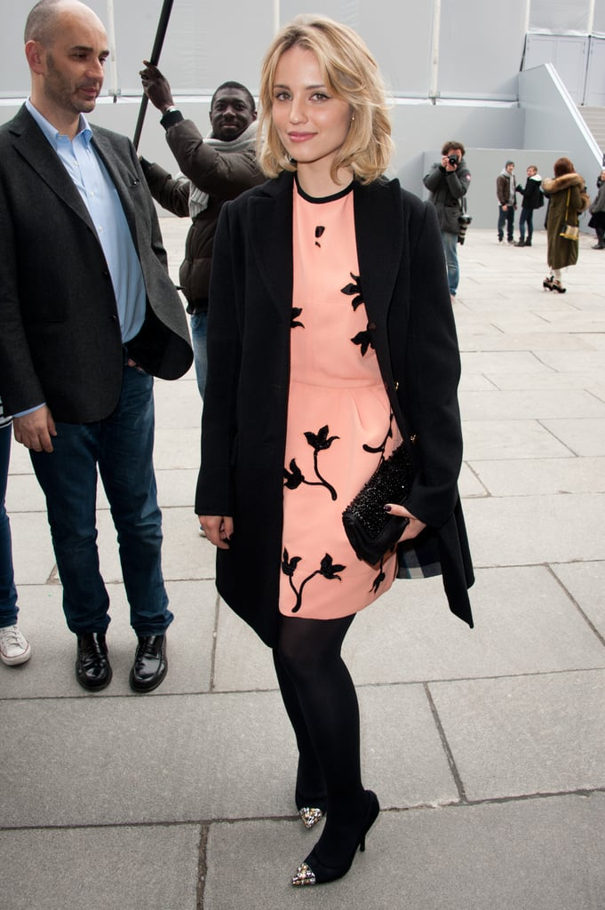 Dianna Agron at Louis Vuitton