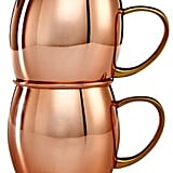 Martha Stewart Collection Copper Moscow Mule Mug Set.  (£37)