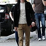 Emma Stone and Andrew Garfield Gear Up For a Busy Few City Days