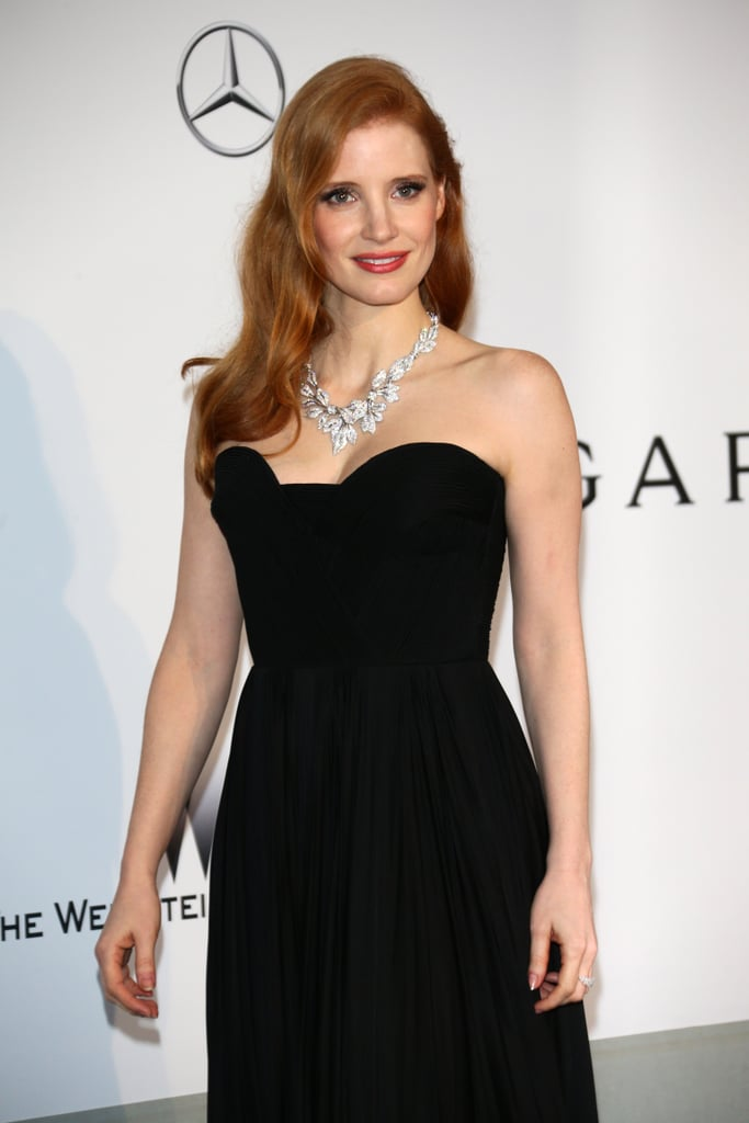 Jessica Chastain arrived at the gala.