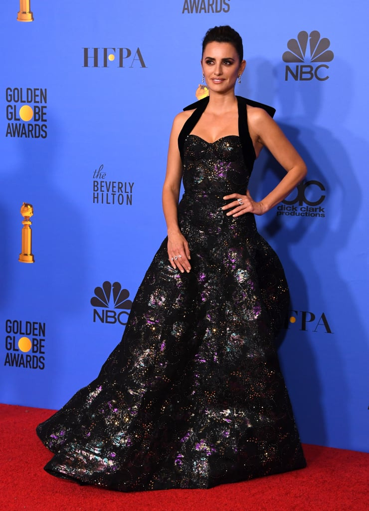 Penelope Cruz at Golden Globes
