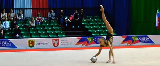 Rhythmic Gymnastics Routine to Whitney Houston Video