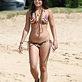 Vanessa Hudgens in a bikini in Hawaii.
